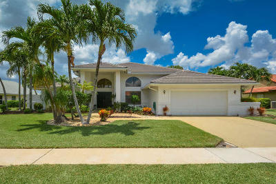 Boca Raton Single Family Home Contingent: 11188 Boca Woods Lane