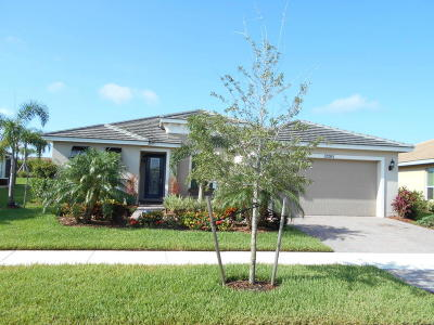 Port Saint Lucie Single Family Home For Sale: 12205 SW Bayberry Avenue