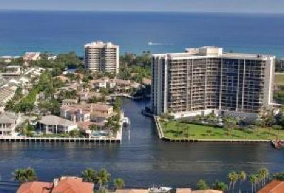 Highland Beach Condo For Sale: 4740 S Ocean Boulevard #815