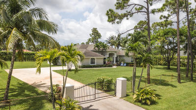 Lake Worth Single Family Home For Sale: 9110 Pinion Drive