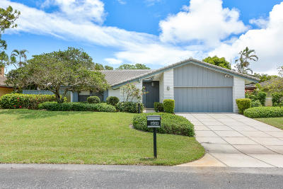 Delray Beach Single Family Home For Sale: 604 W Lakewoode Circle