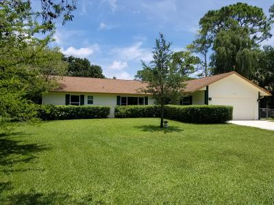 Lake Worth Single Family Home For Sale: 9065 Rodeo Drive