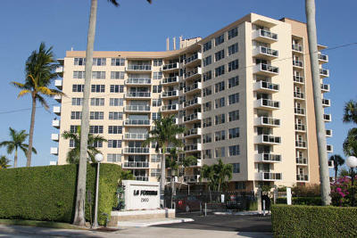 West Palm Beach Condo For Sale: 2800 Flagler Drive #912