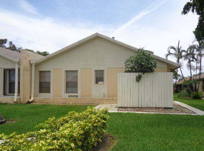Boynton Beach Single Family Home For Sale: 213 SE 1st Circle #17b