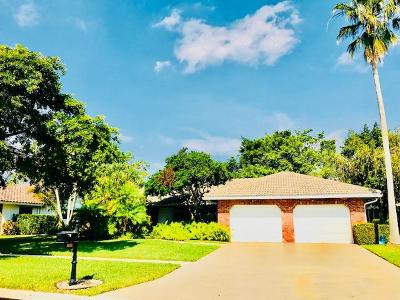 Boca Raton Single Family Home For Sale: 10201 Harbourtown Court