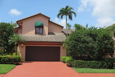 Boca Raton Single Family Home For Sale: 6534 Via Rosa