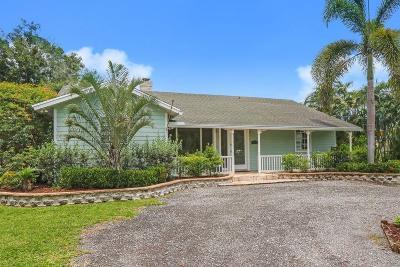 Jupiter Single Family Home For Sale: 10631 153rd Court