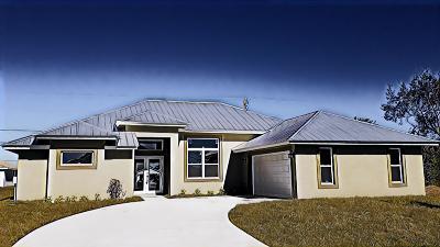 Port Saint Lucie Single Family Home For Sale: 1265 SW Milan Lane