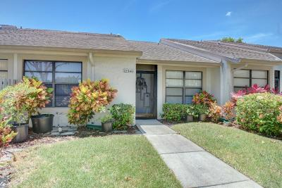 Boynton Beach Single Family Home For Sale: 12341 Country Greens Boulevard