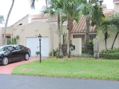Boca Raton Single Family Home For Sale: 22555 Meridiana Drive