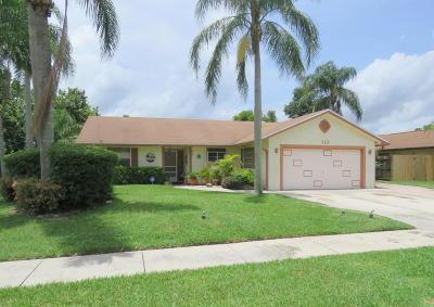 Royal Palm Beach Single Family Home For Sale: 113 Prado Street