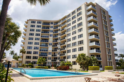 West Palm Beach Condo For Sale: 2800 Flagler Drive #812