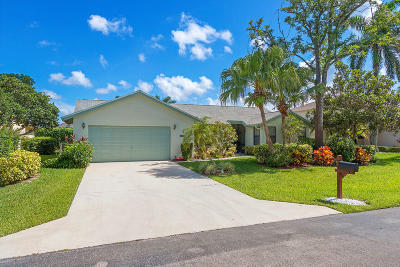Delray Beach Single Family Home Contingent: 2870 NW 15th Street