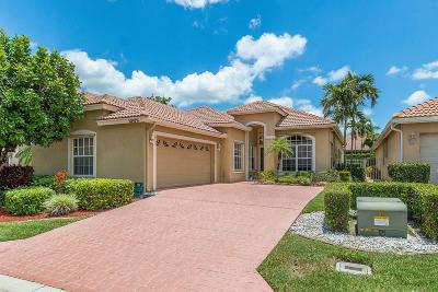 Boca Raton Single Family Home For Sale: 10979 La Salinas Circle