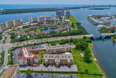 North Palm Beach Condo Contingent: 308 Golfview Road #105