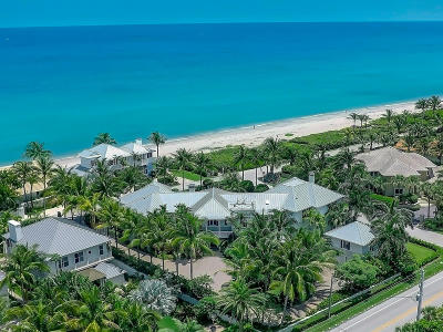 Gulf Stream, Ocean Ridge Single Family Home For Sale: 6017 Old Ocean Boulevard