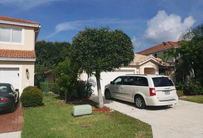 Lake Worth Single Family Home For Sale: 6252 Willoughby Circle