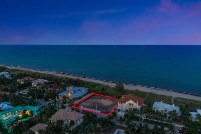 Delray Beach Residential Lots & Land For Sale: 707 Ocean Boulevard