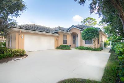 Jupiter Single Family Home For Sale: 168 S Hampton Drive