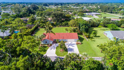 Delray Beach Single Family Home For Sale: 3920 Evans Road