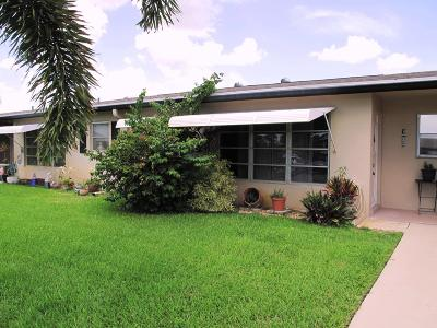 Delray Beach Single Family Home For Sale: 870 High Point Boulevard #C