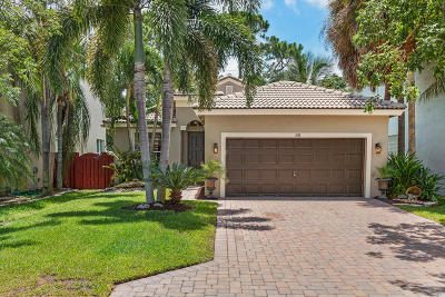 Delray Beach Single Family Home Contingent: 1150 W Magnolia Circle