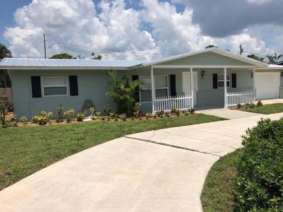 Stuart Single Family Home Contingent: 910 SE Ocean Avenue