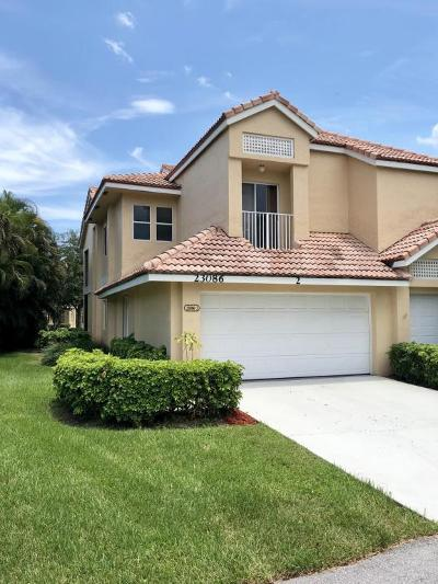 Boca Raton Townhouse For Sale: 23086 Island View Drive #2