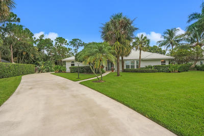 Jupiter Single Family Home Contingent: 5601 Old Mystic Court