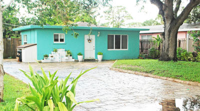 Jupiter Single Family Home For Sale: 308 6th Street