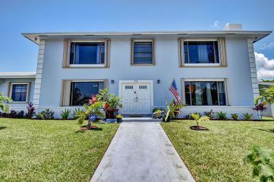 Boynton Beach Single Family Home For Sale: 424 NW 5th Avenue