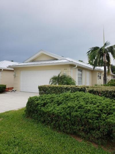Palm City Single Family Home For Sale: 1615 SW Waterfall Boulevard