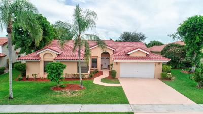 Boca Raton Single Family Home For Sale: 20725 Waters Edge Court