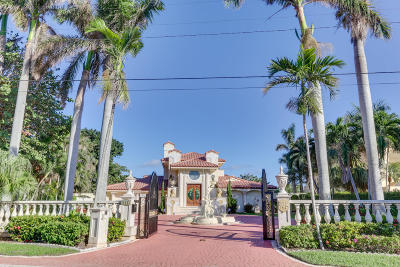 Delray Beach Single Family Home Contingent: 945 Palm Trail