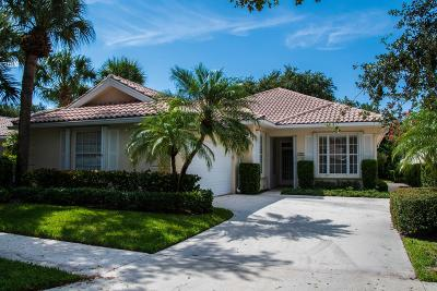 Palm Beach Gardens Single Family Home For Sale: 395 Kelsey Park Drive