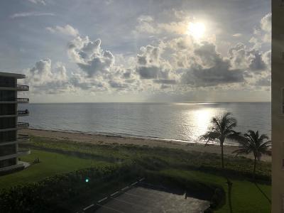 Palm Beach Condo For Sale: 2730 S Ocean Boulevard #502