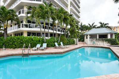 West Palm Beach Condo For Sale: 1617 Flagler Drive #8b