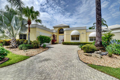 Boca Raton Single Family Home For Sale: 5334 Ascot Bend