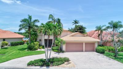 Boynton Beach Single Family Home Contingent: 18 Sutton Drive