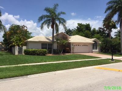 Boca Raton Single Family Home For Sale: 20077 Palm Island Drive