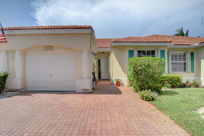 Delray Beach Single Family Home For Sale: 6239 Caladium Road