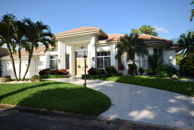 Boynton Beach Single Family Home For Sale: 12153 S Dunes Road