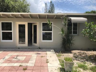 West Palm Beach Single Family Home For Sale: 966 32nd Street