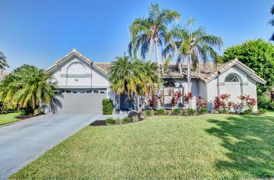 Boca Raton Single Family Home For Sale: 20152 Back Nine Drive