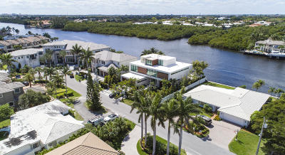 Highland Beach Single Family Home For Sale: 4326 Intracoastal Drive