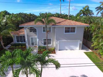 Boynton Beach Single Family Home For Sale: 644 Riviera Drive
