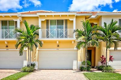 Palm Beach Gardens Townhouse For Sale: 1016 Piccadilly Street