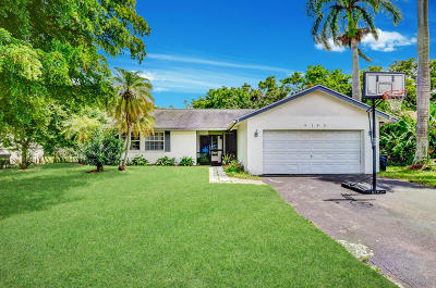 Boca Raton Single Family Home For Sale: 9193 Southampton Place