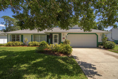Fort Pierce Single Family Home For Sale: 7501 Paso Robles Boulevard