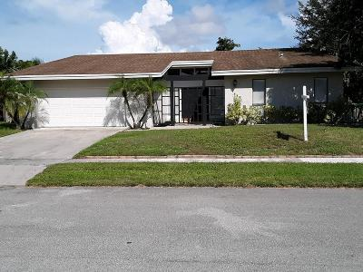 Boca Raton FL Single Family Home For Sale: $497,500